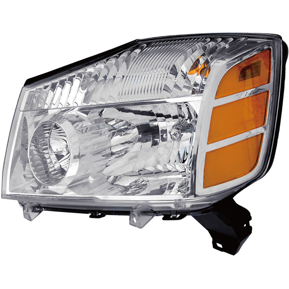 BuyAutoParts 16-01174AN Headlight Assembly