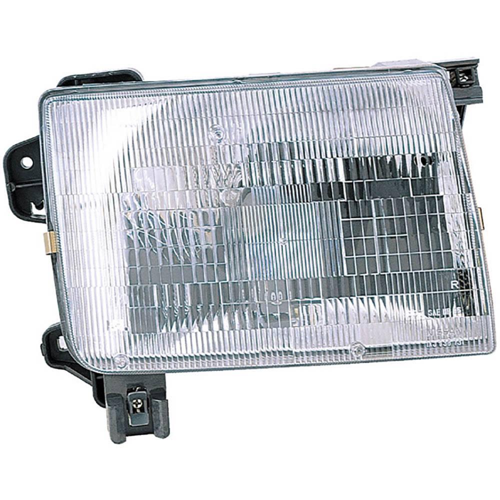 Nissan Headlamp Assembly : Nissan xterra headlight assembly oem aftermarket