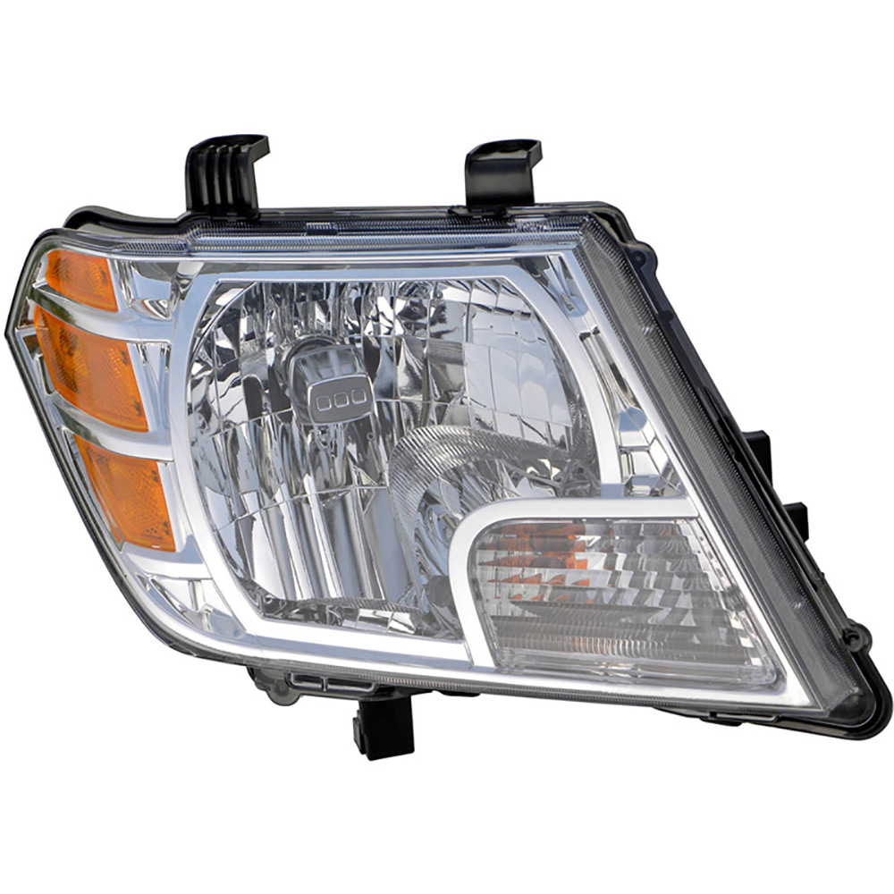 Nissan Headlamp Assembly : Nissan frontier headlight assembly pair of