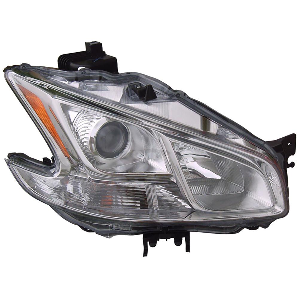 Nissan Headlamp Assembly : Nissan maxima headlight assembly right passenger side