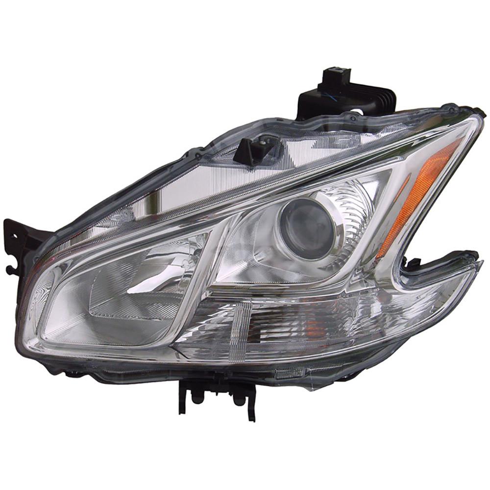 Nissan Headlamp Assembly : Nissan maxima headlight assembly left driver side