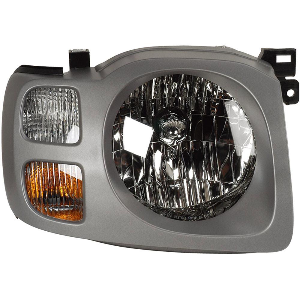 2004 Nissan Xterra Headlight Assembly Right Passenger Side