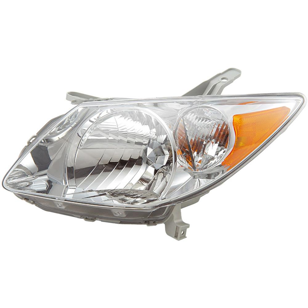 Saturn L-Series Headlight Assembly