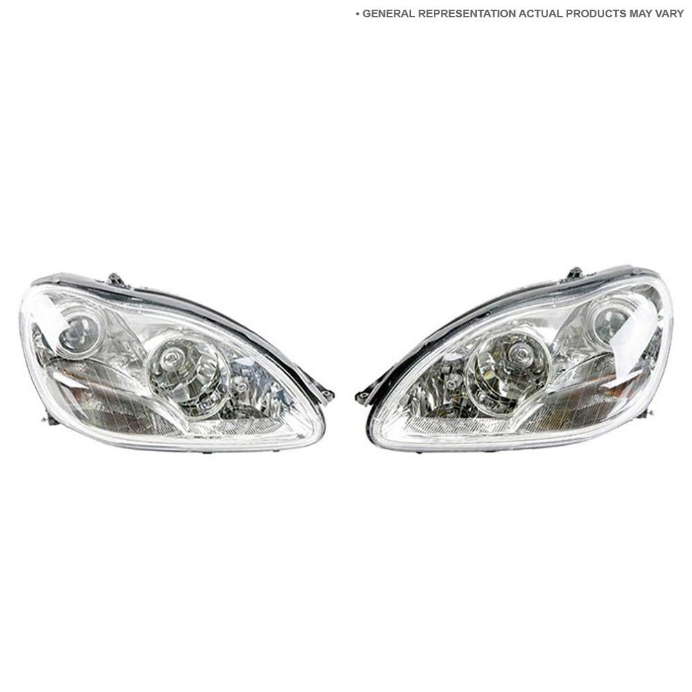 2008 Acura MDX Headlight Assembly Pair Pair Of Headlight