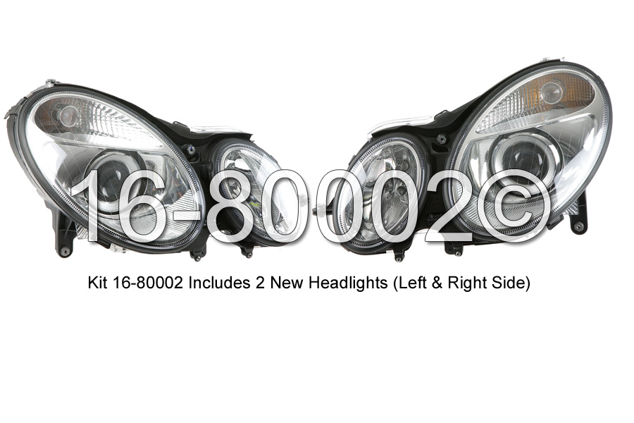 Mercedes Benz  Headlight Assembly Pair