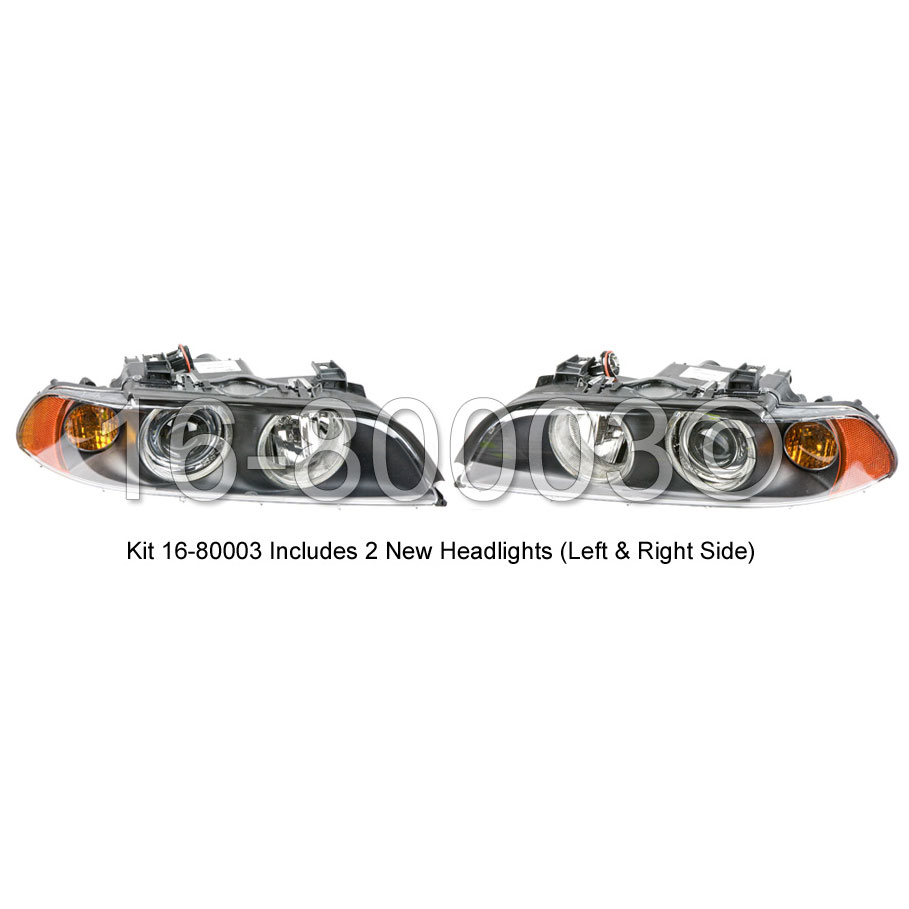 BMW M5 Headlight Assembly Pair