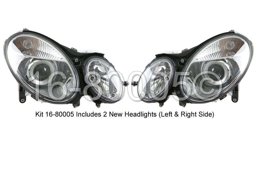 Mercedes_Benz E350 Headlight Assembly Pair