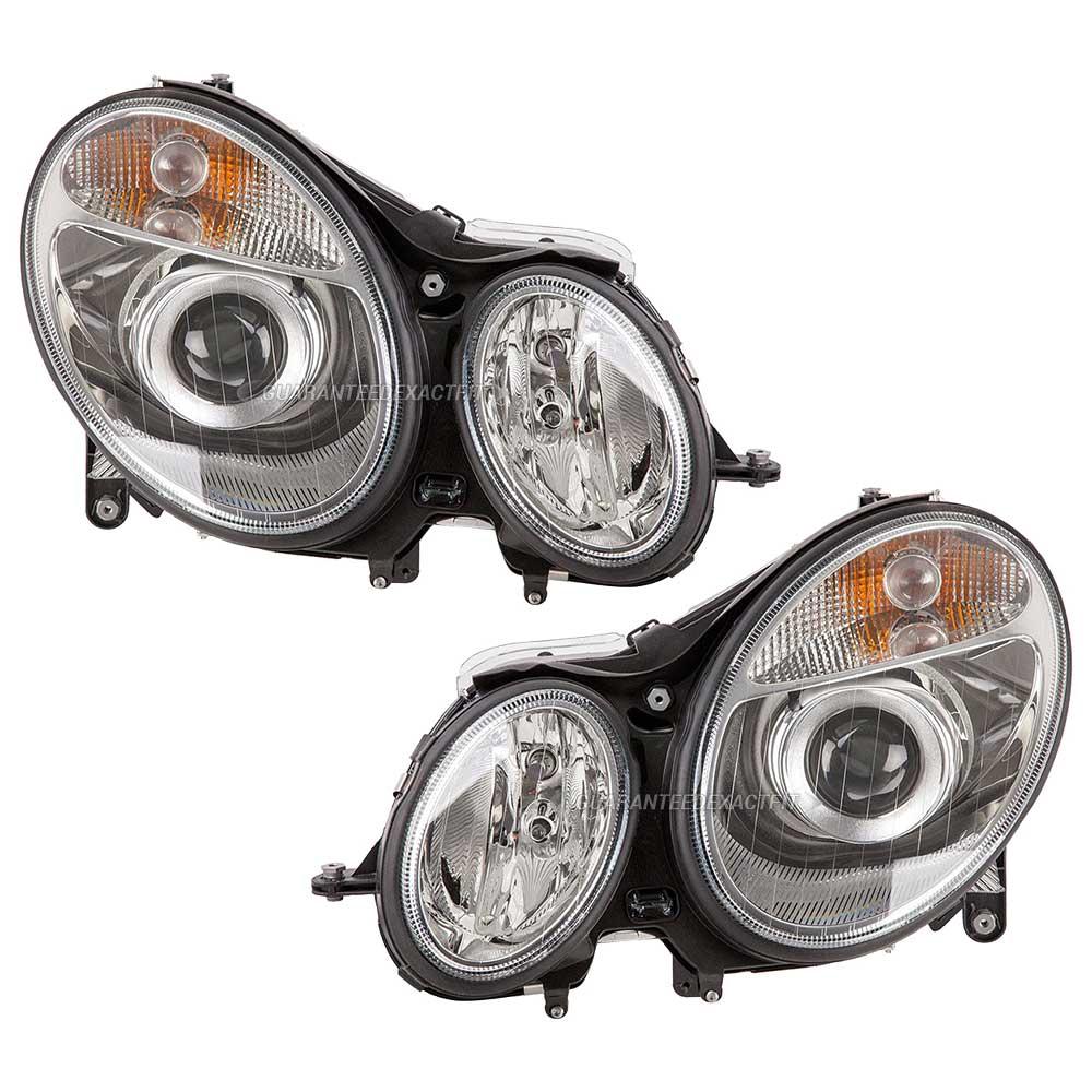 2007 mercedes benz e350 headlight assembly pair headlight for Mercedes benz headlight assembly