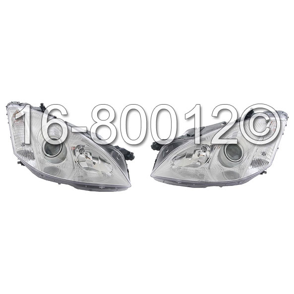 Mercedes Benz S600 Headlight Assembly Pair