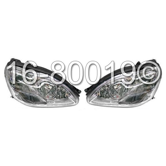 Mercedes_Benz S65 AMG Headlight Assembly Pair