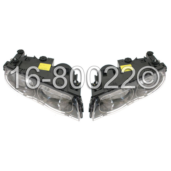 Headlight Assembly Pair 16-80022 B2