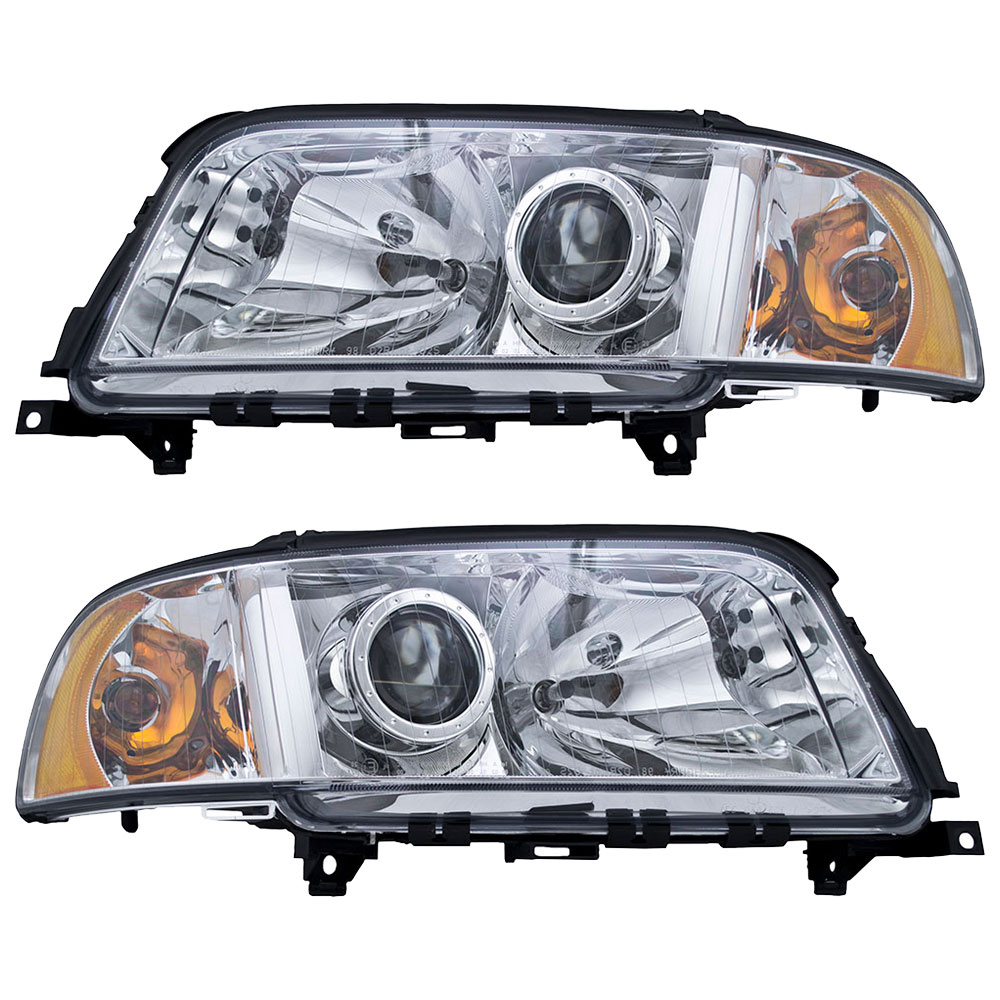 Audi Replacement Parts: Audi A8 Headlight Assembly Pair