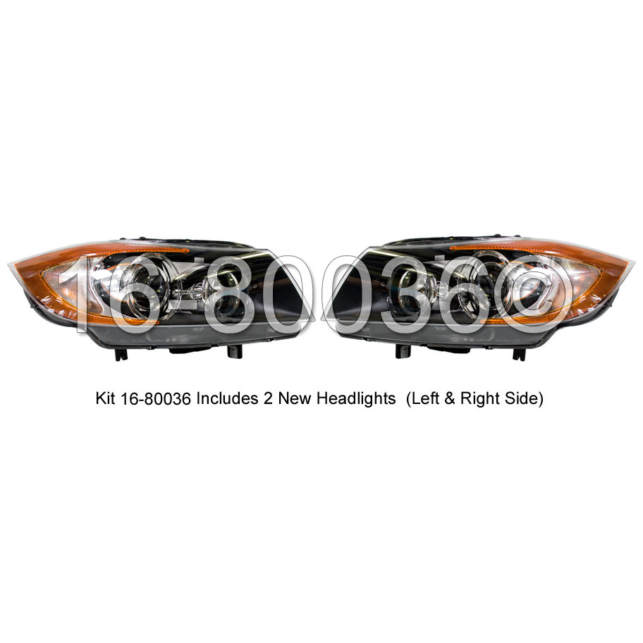 Headlight Assembly Pair 16-80036 H2