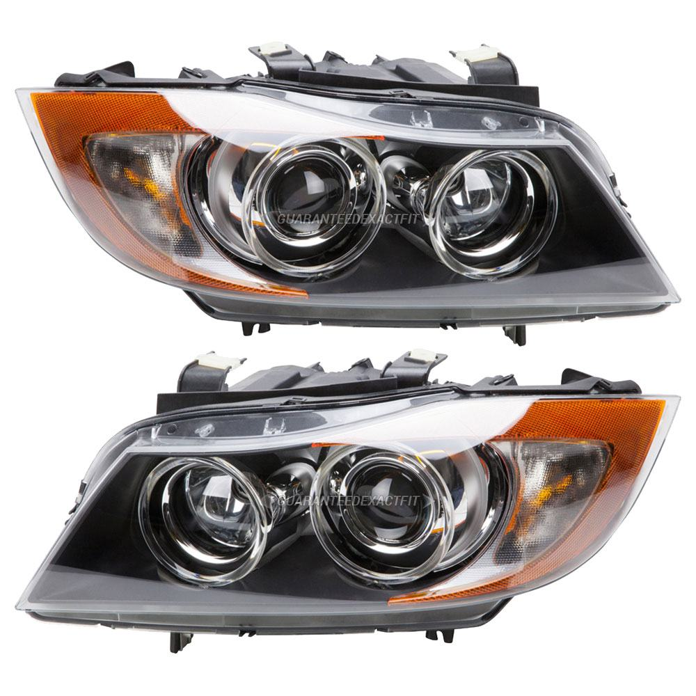 Bmw 328xi Headlight Assembly Pair