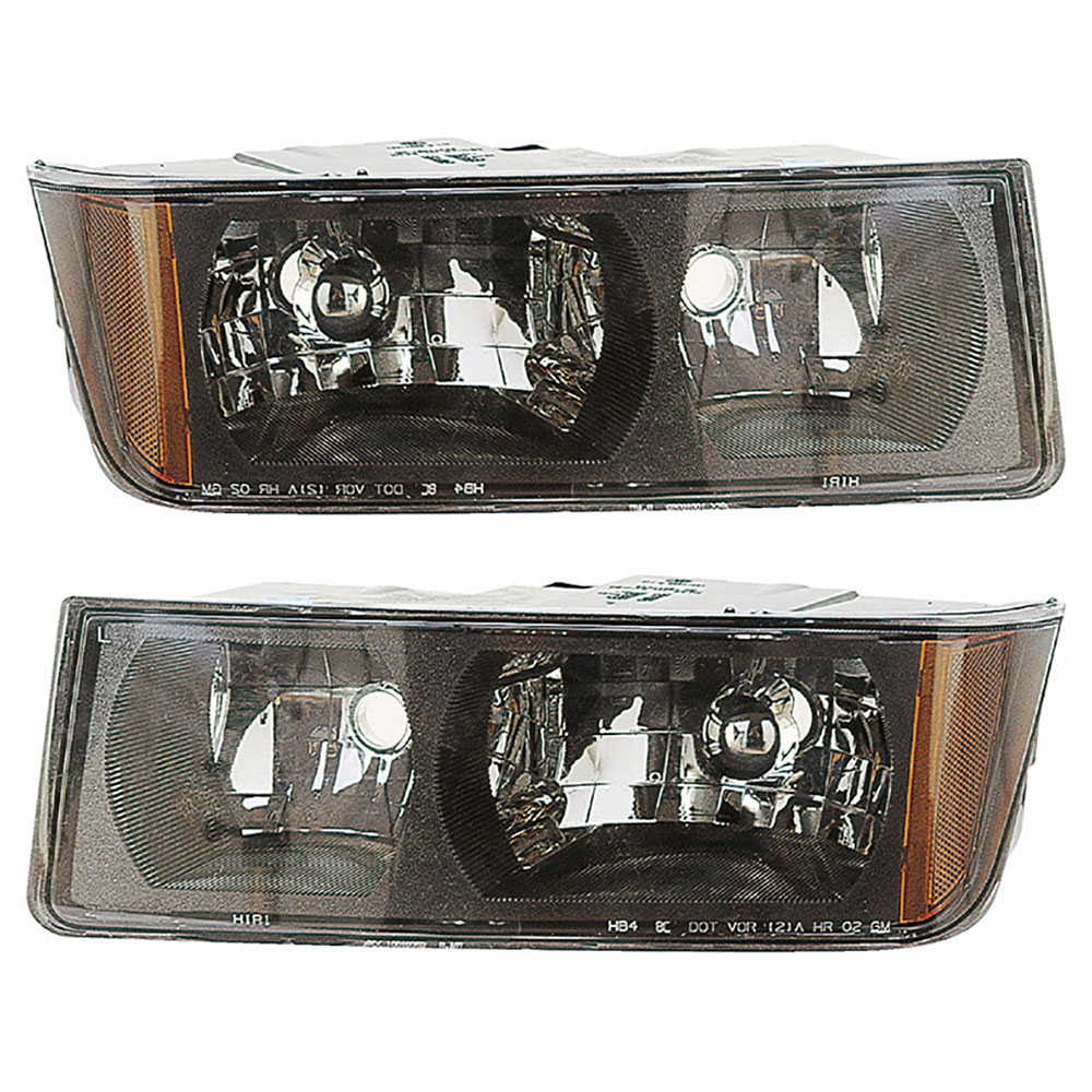Chevrolet Avalanche 1500 Headlight Assembly Pair