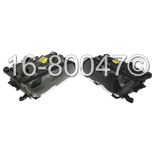 BMW 325 Headlight Assembly Pair