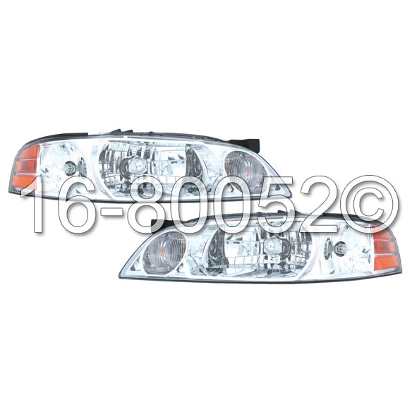 Nissan  Headlight Assembly Pair