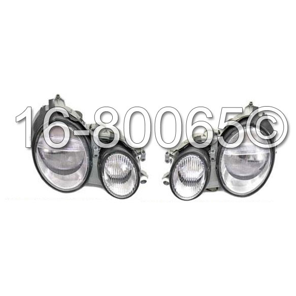 Mercedes_Benz CLK430 Headlight Assembly Pair