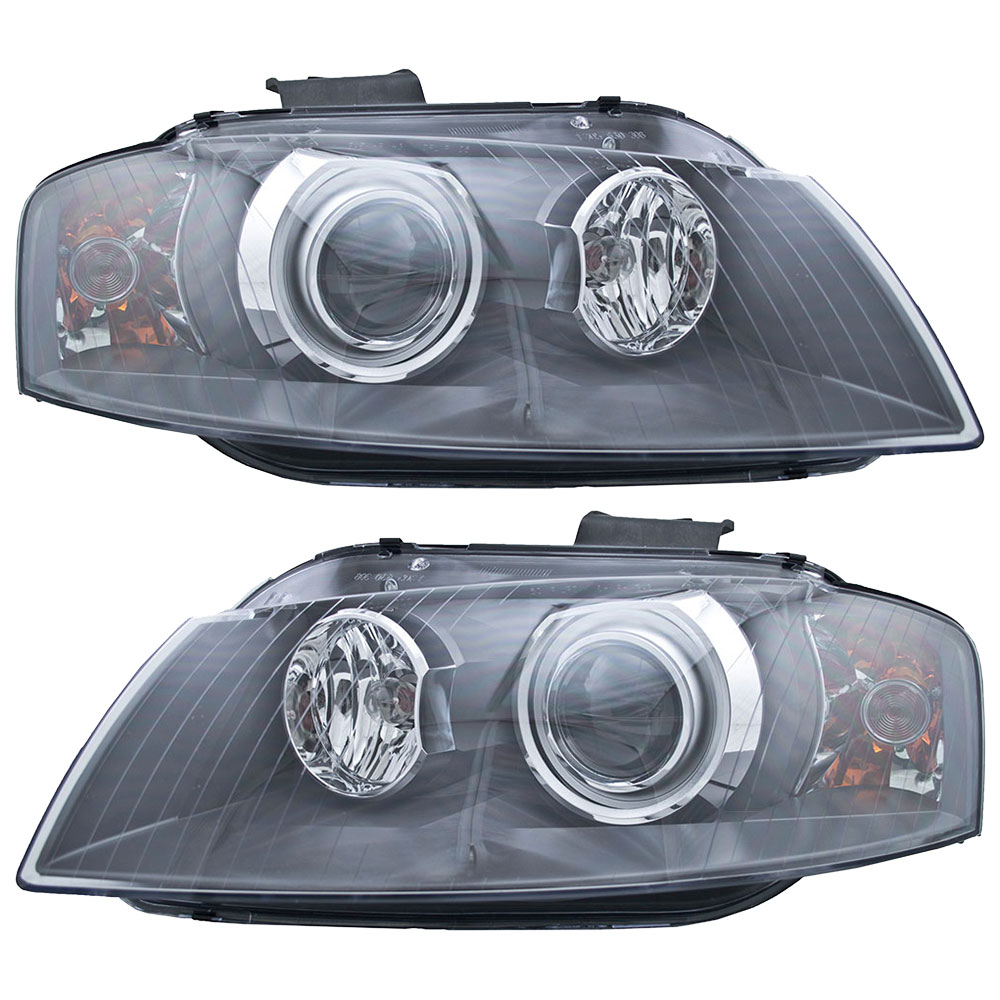 Audi A3 Headlight Assembly Pair