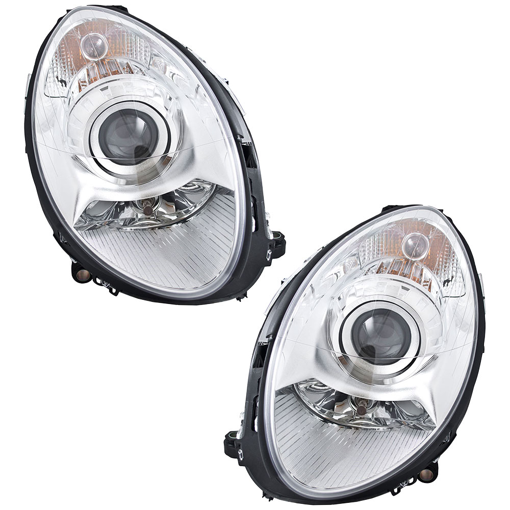 Mercedes Benz R500 Headlight Assembly Pair
