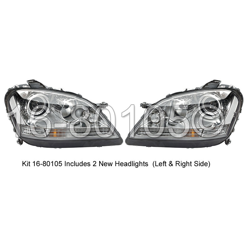 Mercedes_Benz ML500 Headlight Assembly Pair