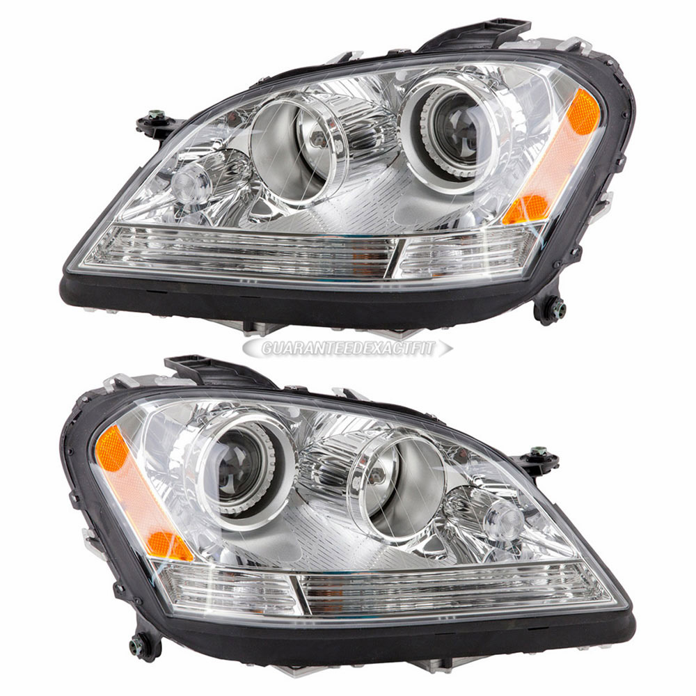 2006 mercedes benz ml500 headlight assembly pair headlight for Mercedes benz ml500 parts