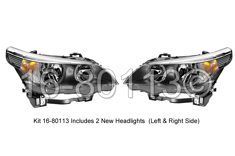 Headlight Assembly Pair 16-80113 H2