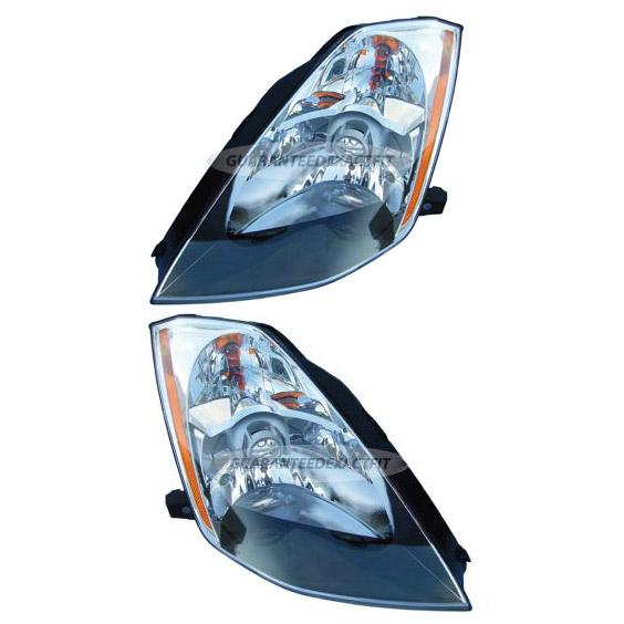 2003 Nissan 350Z Headlight Assembly Pair