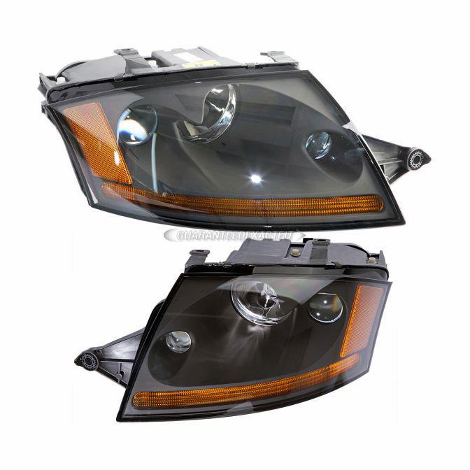 2001 Audi Tt Headlights: 2004 Audi TT Headlight Assembly Pair Headlight Assembly