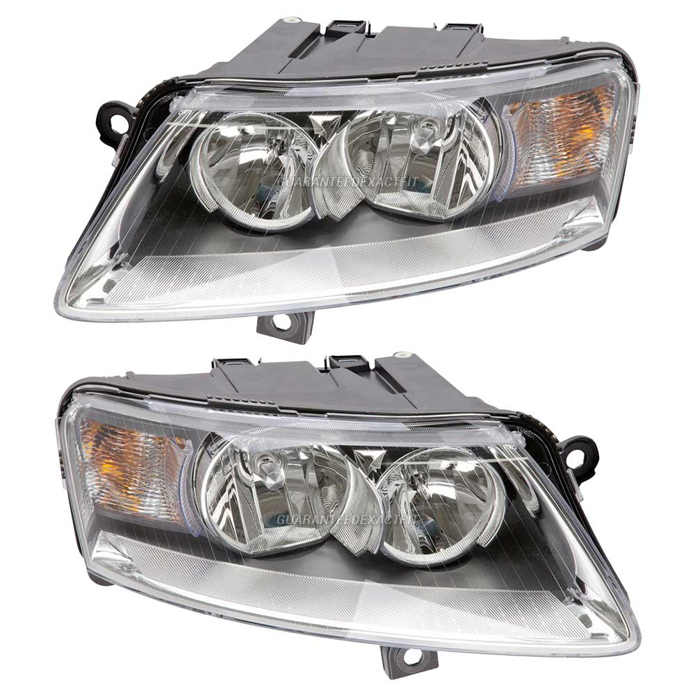 Audi A6 Headlight Assembly Pair