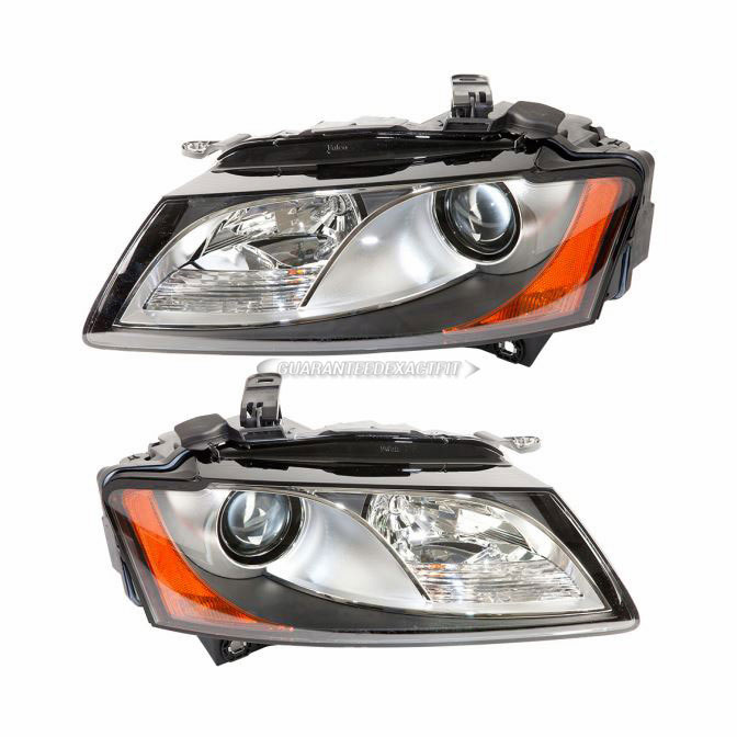 Audi S5 Headlight Assembly Pair