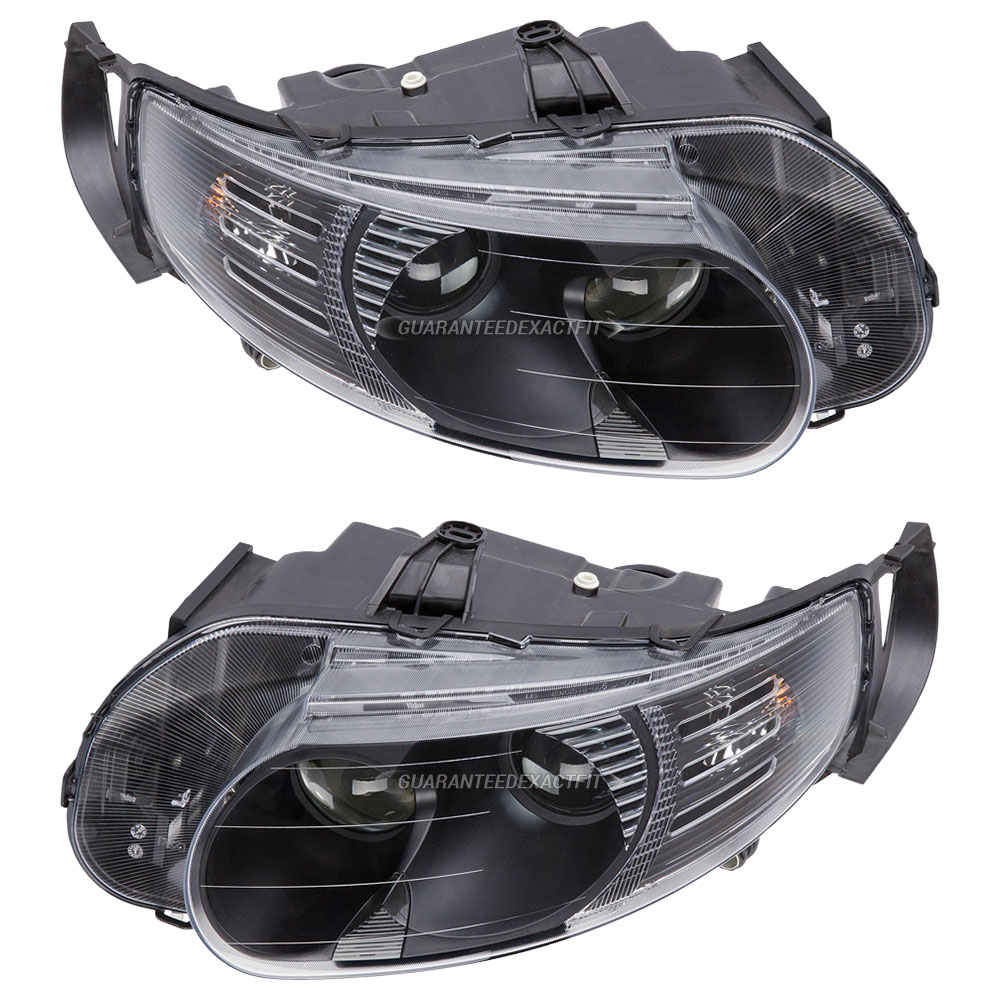 BuyAutoParts 16-80187V2 Headlight Assembly Pair