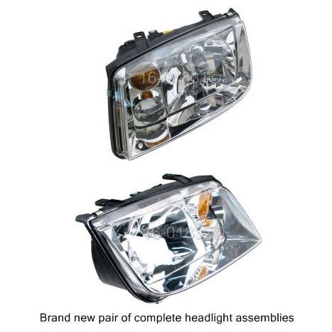 Volkswagen Jetta Headlight Assembly Pair