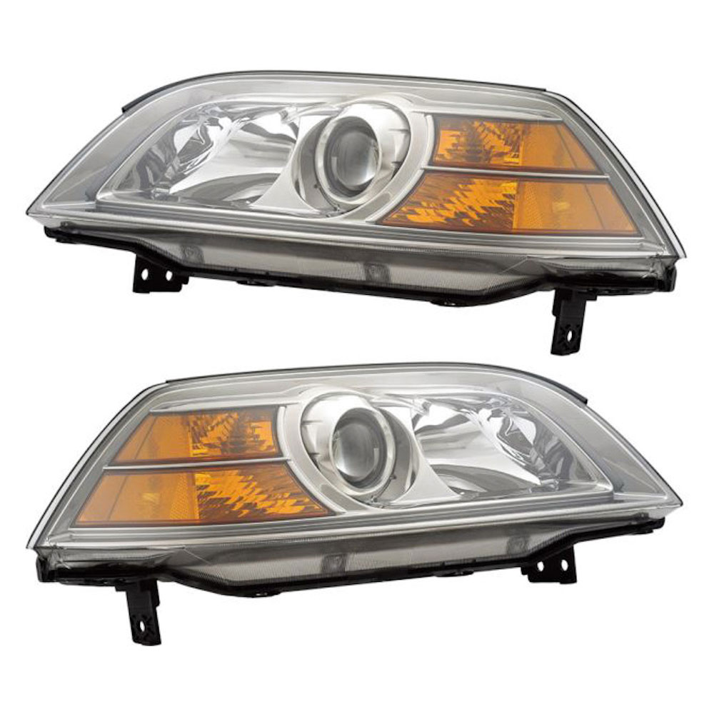 Headlight Assembly Pairs For Acura MDX Pair Of Headlight - 2004 acura mdx headlights