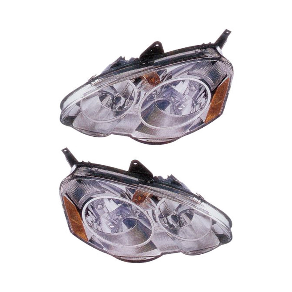 Acura RSX Headlight Assembly Pair
