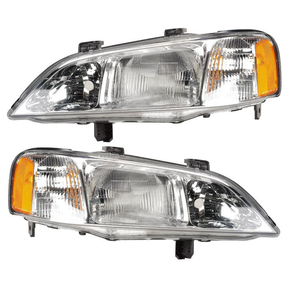 Acura TL Headlight Assembly Pair