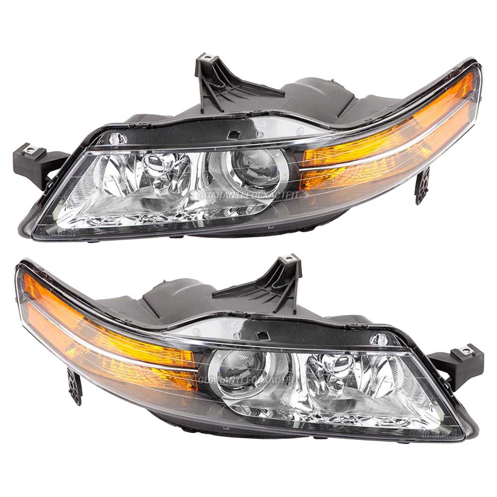 Headlight Assembly Pairs For Acura TL Pair Of Headlight - 2004 acura tl headlight