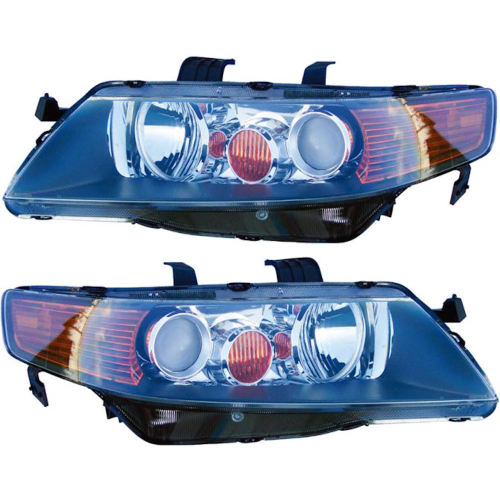 Acura TSX Headlight Assembly Pair