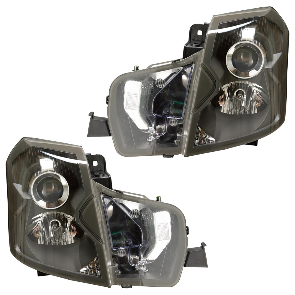 Cadillac CTS Headlight Assembly Pair - OEM & Aftermarket ...