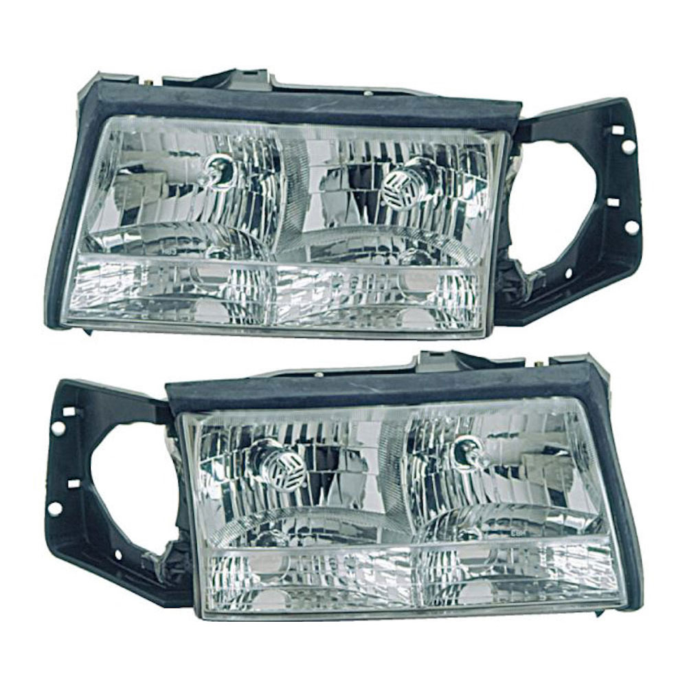 1997 Cadillac Deville Parts: 1997 Cadillac Deville Headlight Assembly Pair Pair Of Headlight Assemblies 16-80315 A9