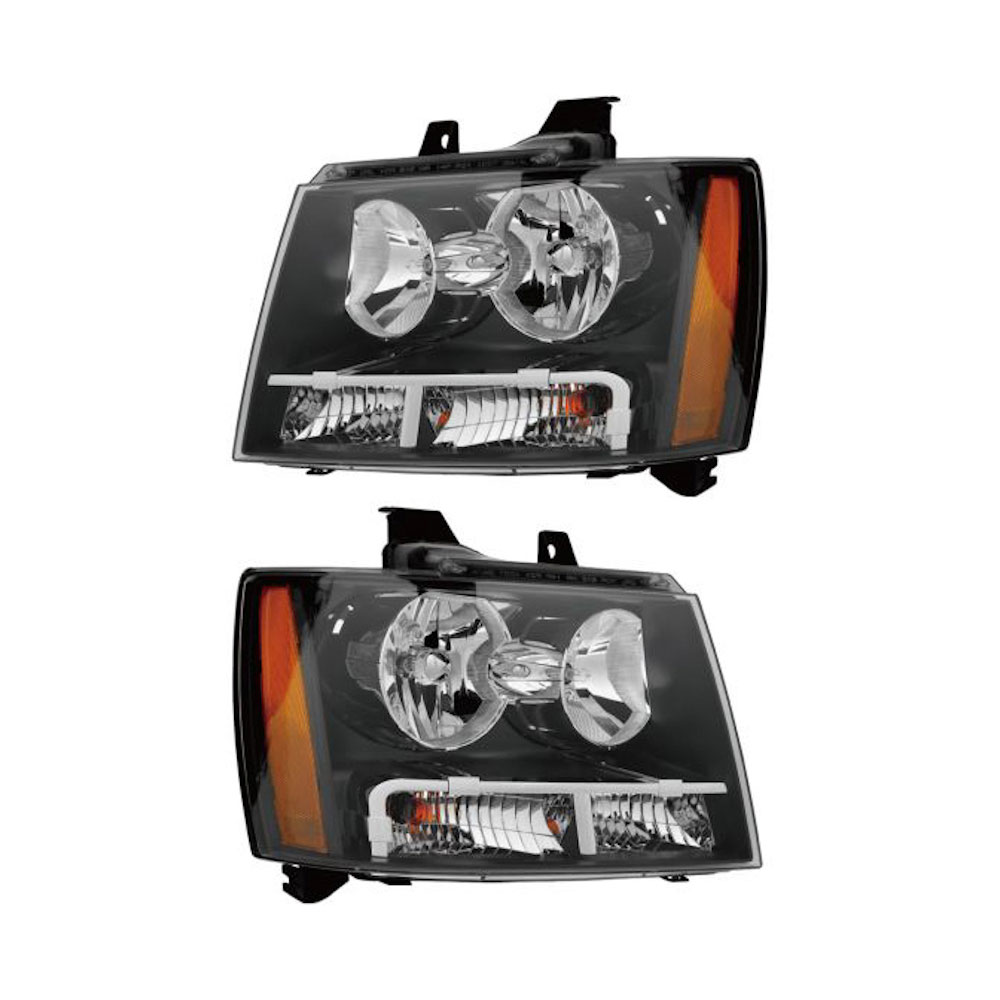Chevrolet Avalanche Headlight Assembly Pair