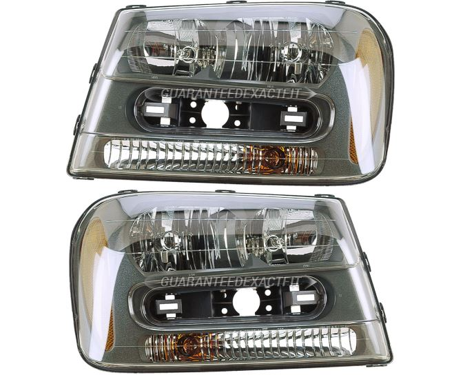 Chevrolet Trailblazer Headlight Assembly Pair
