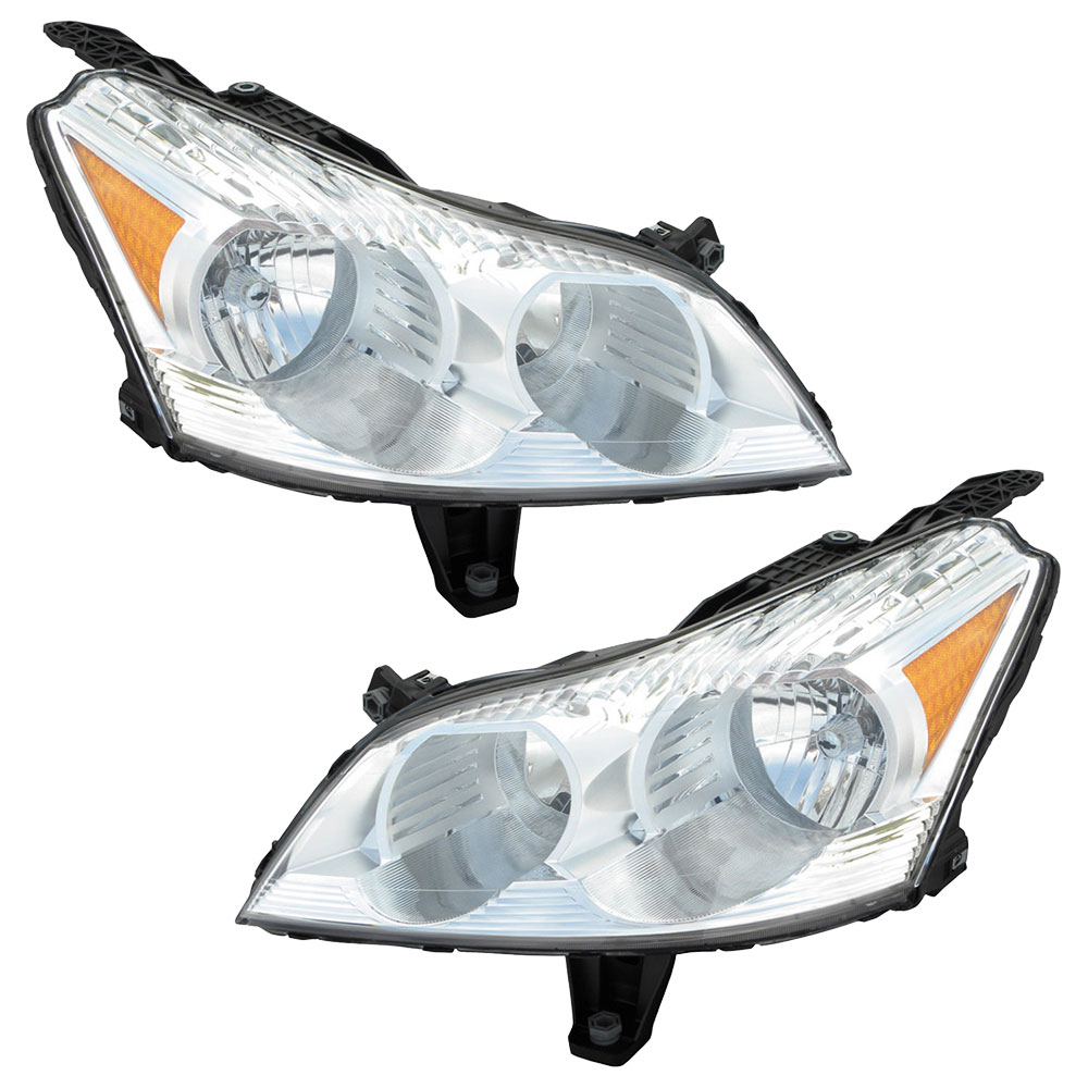 Chevrolet Traverse Headlight Assembly Pair