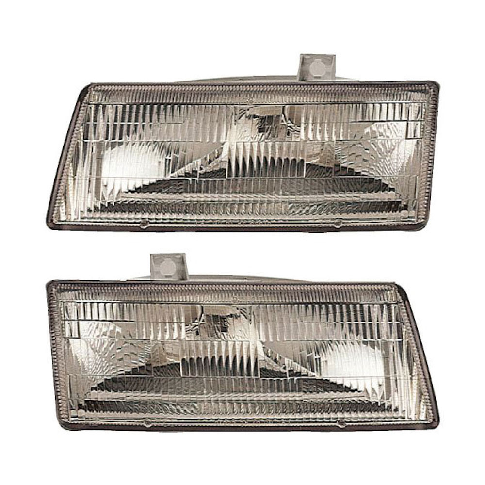 Plymouth Voyager Headlight Assembly Pair