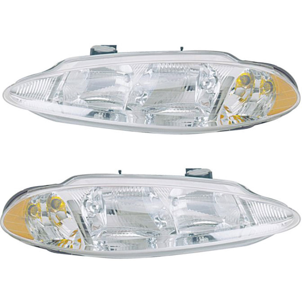 BuyAutoParts 16-80421A9 Headlight Assembly Pair