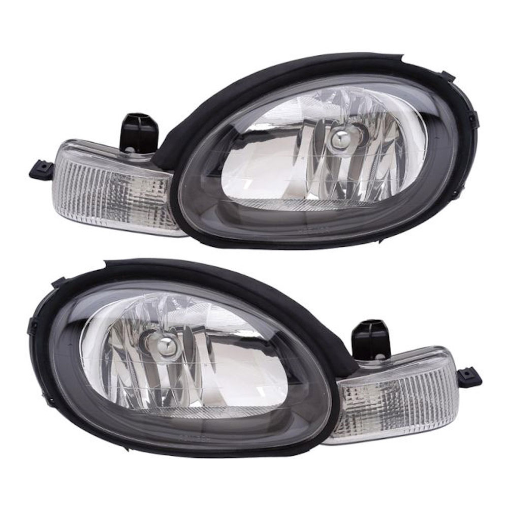 Plymouth Neon Headlight Assembly Pair