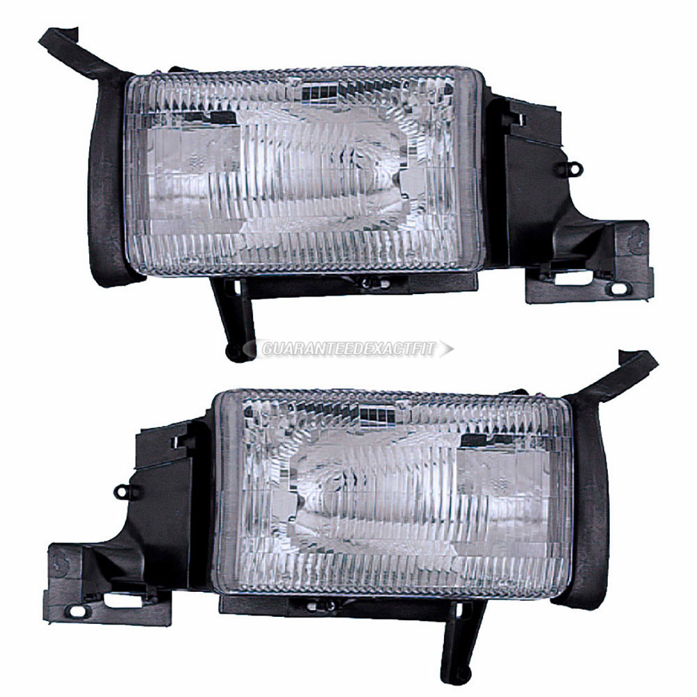BuyAutoParts 16-80432A9 Headlight Assembly Pair