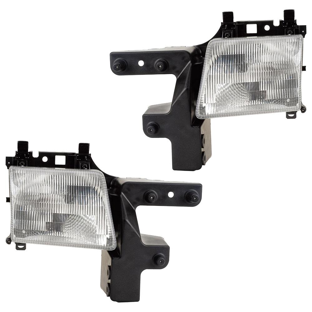 Dodge A Series Van Headlight Assembly Pair