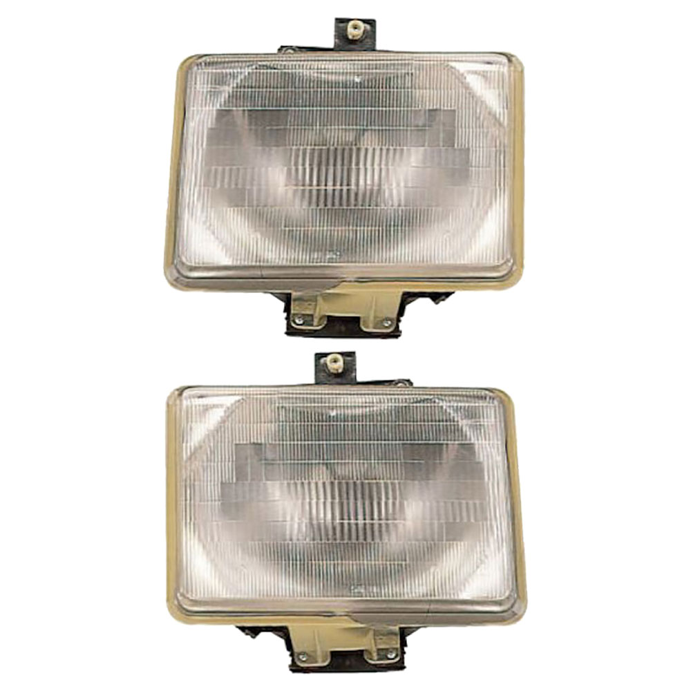 BuyAutoParts 16-80446A9 Headlight Assembly Pair