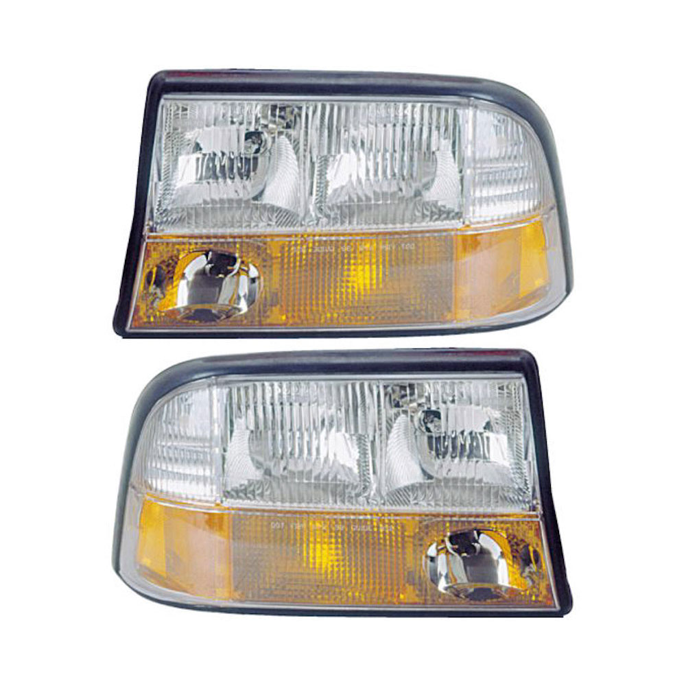 Oldsmobile Bravada Headlight Assembly Pair